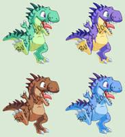 T-rex pet by J-C