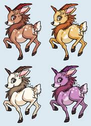 Deer pet by J-C