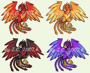 Phoenix pet by J-C