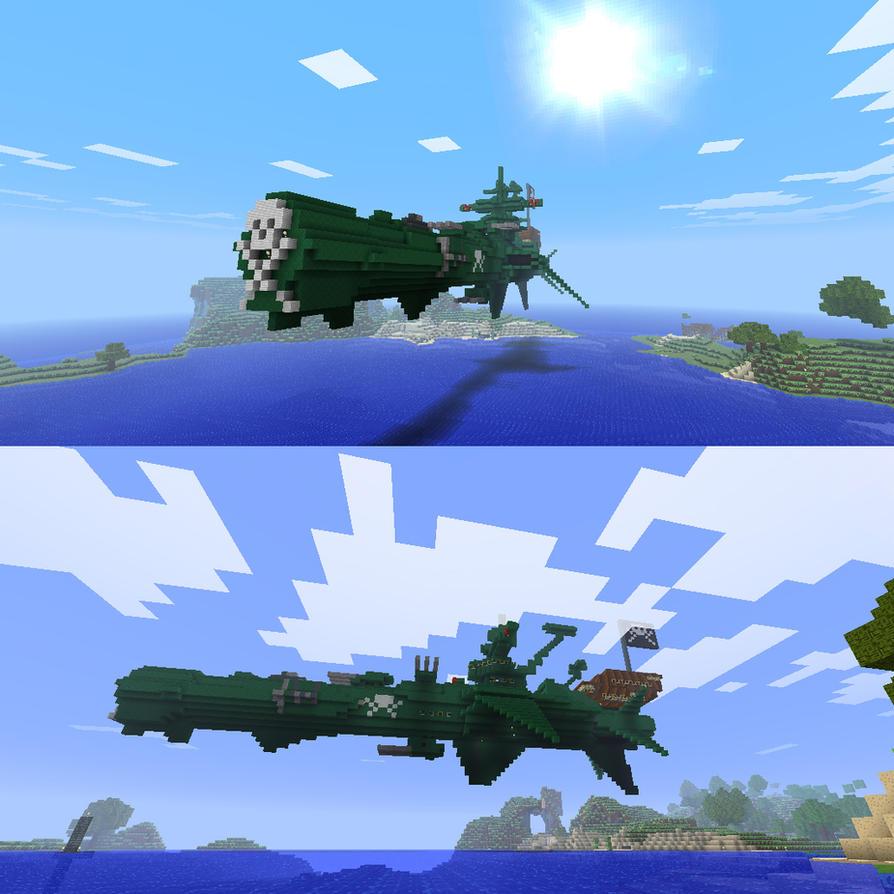 atlantis albator minecraft 2 by easycheuvreuille on deviantart