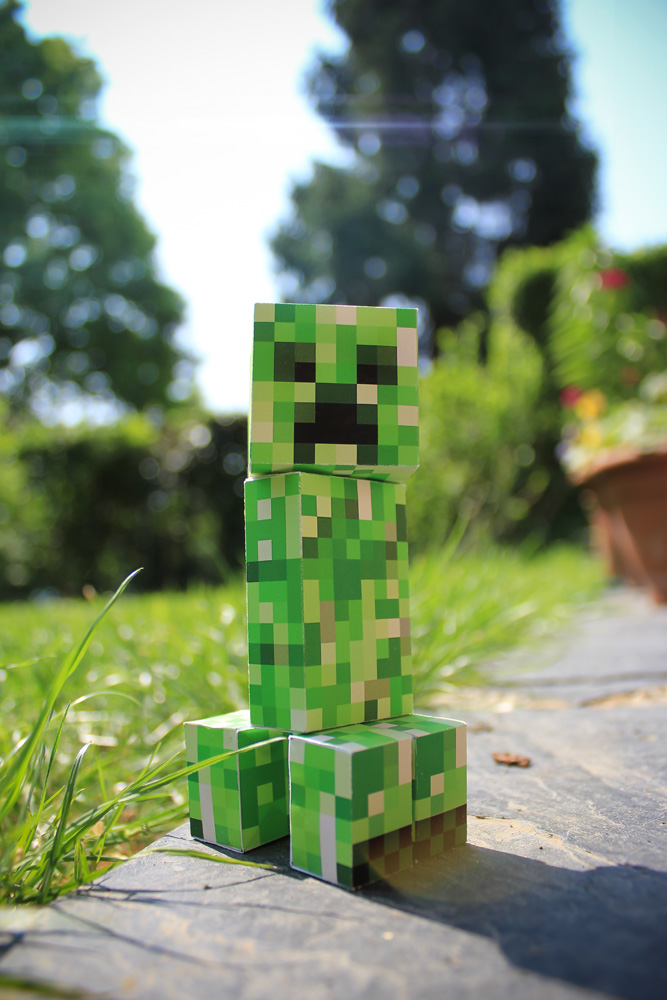 Real Creeper 3d By Easycheuvreuille On Deviantart