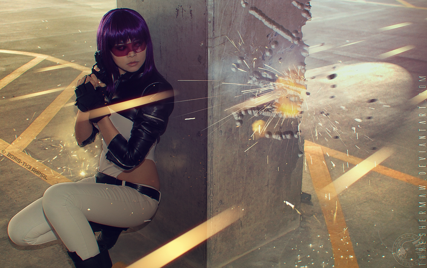 ghost in the shell sparks by easycheuvreuille