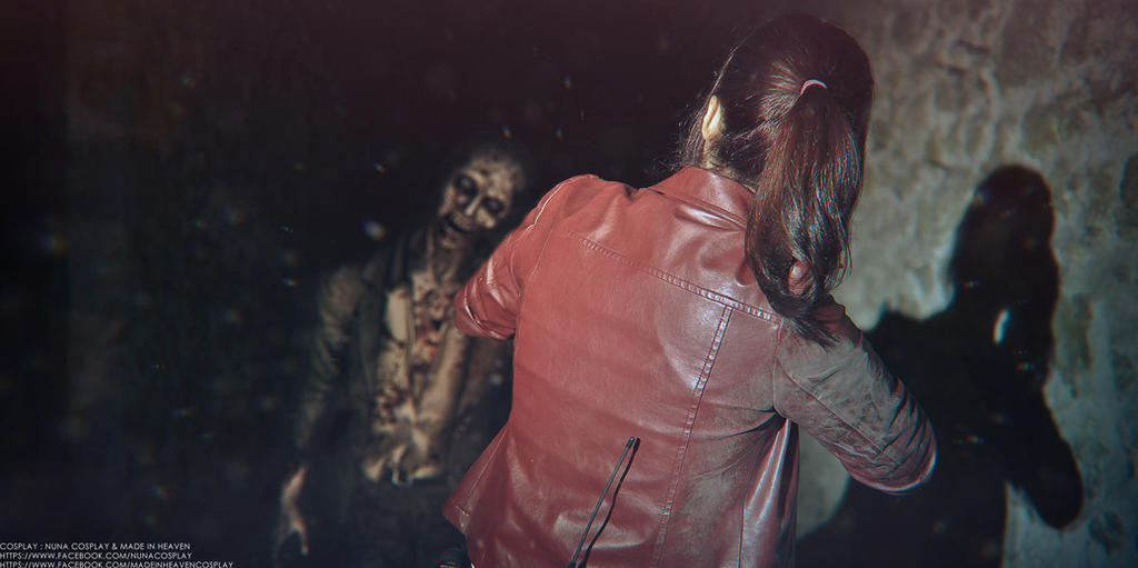 resident evil cosplay 2 by easycheuvreuille
