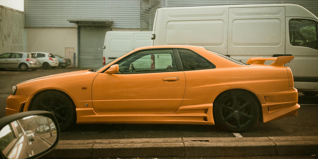 nissan skyline by easycheuvreuille
