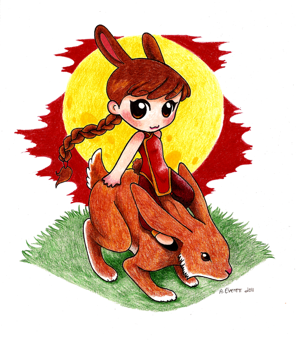 Rabbit 2011 by tinyclayforest
