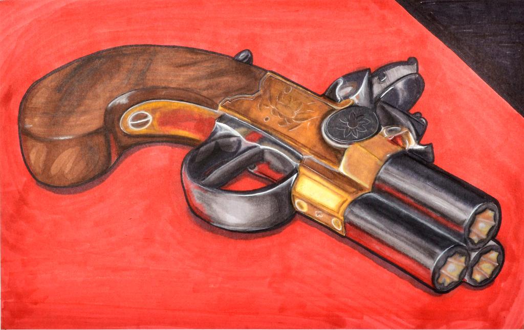 Pistol by Farizada