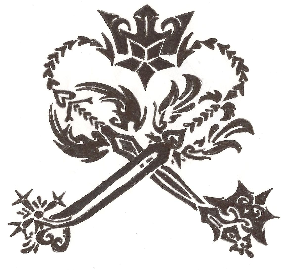 oblivion and oathkeeper tattoo by itsROXASxiii on DeviantArt