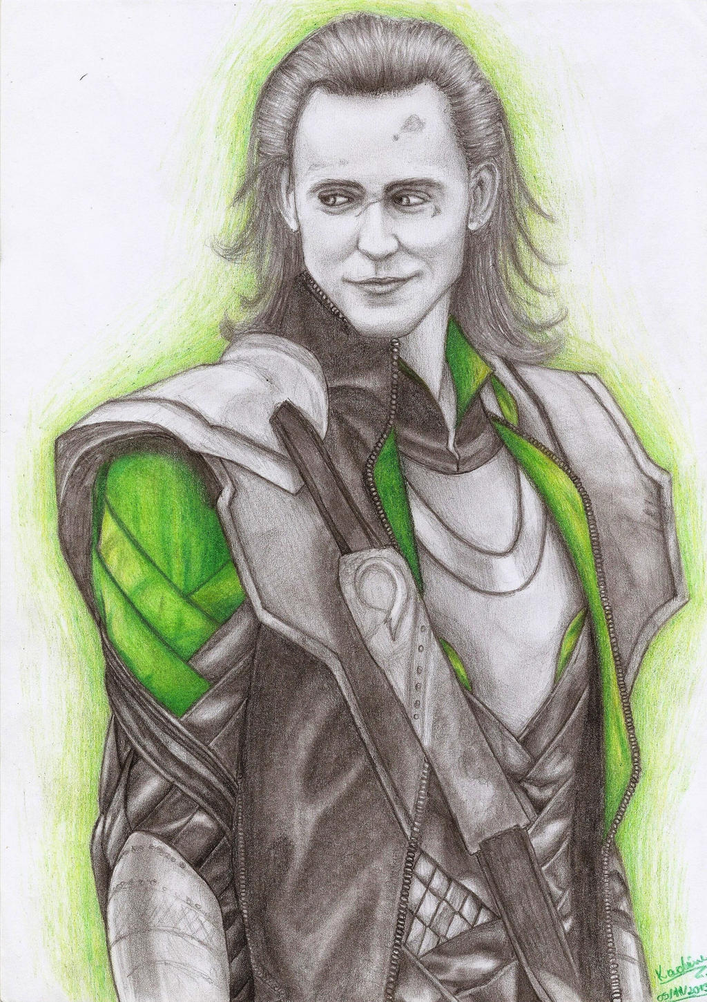 God of Mischief by Kah-Fly