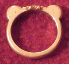 Super Cute Bear Ring by BlassPetals