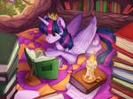 Twilight time - Twilight Sparkle Fanart