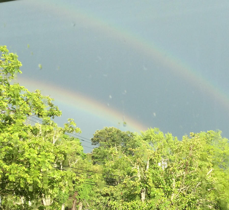 Double Rainbow by NaTabhairSuas