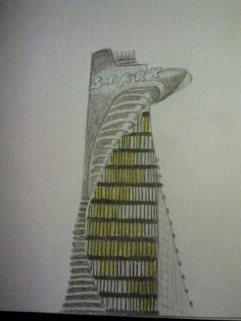 Stark Tower By A Citizen Of Asgard