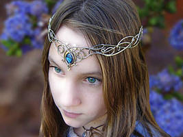 A model wearing SilverMoon by ElnaraNiall
