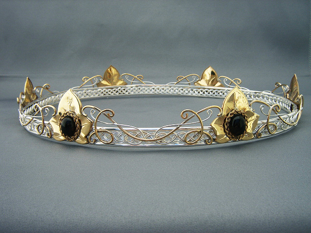 Bridal Coronet Headpiece by ElnaraNiall