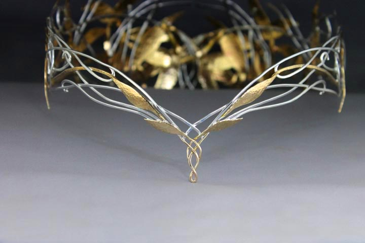 My replica of the Galadriel crown by ElnaraNiall