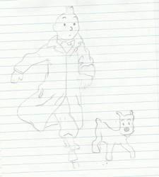 Tintin by 70f9