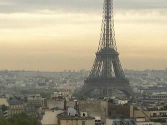 Eiffel tower by 70f9