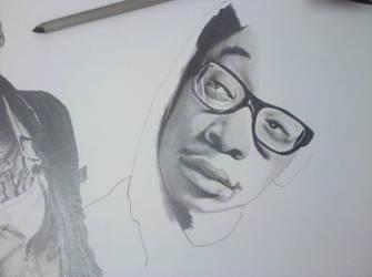 Wiz Khalifa ll W.I.P by greeny3815