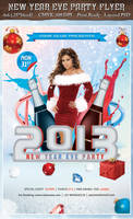 New Year Eve 2013 - Party Flyer