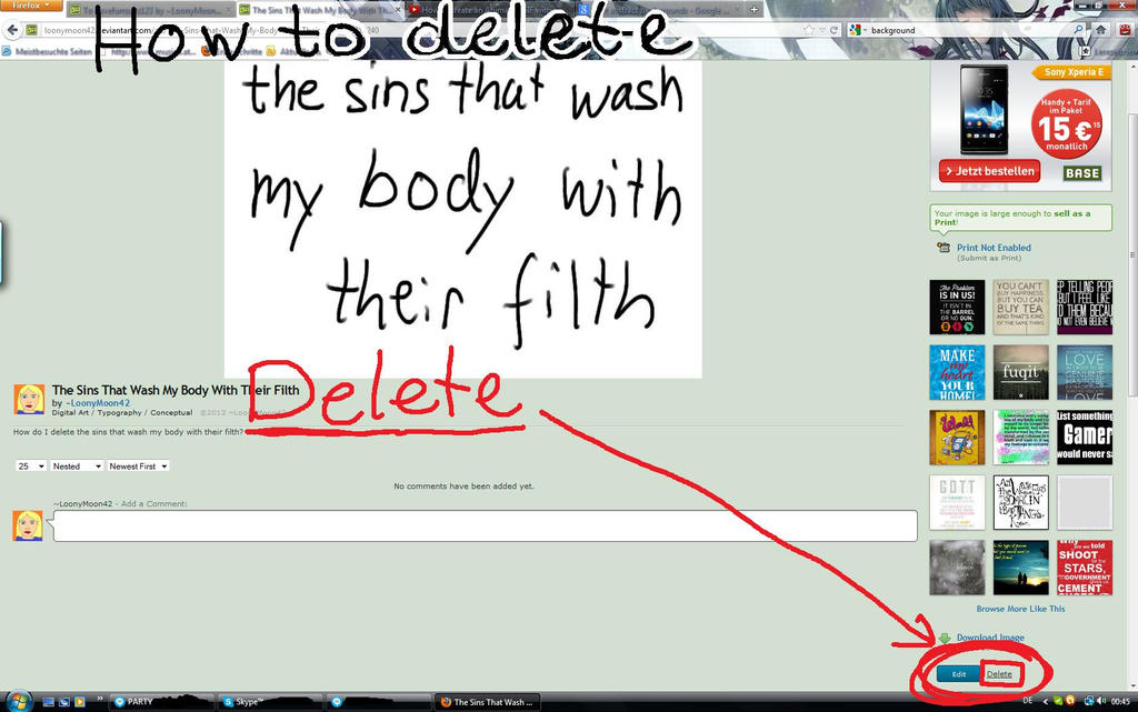 how to delete my downloads