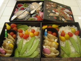 Saturday Bento 10-11 by CoppeliaD