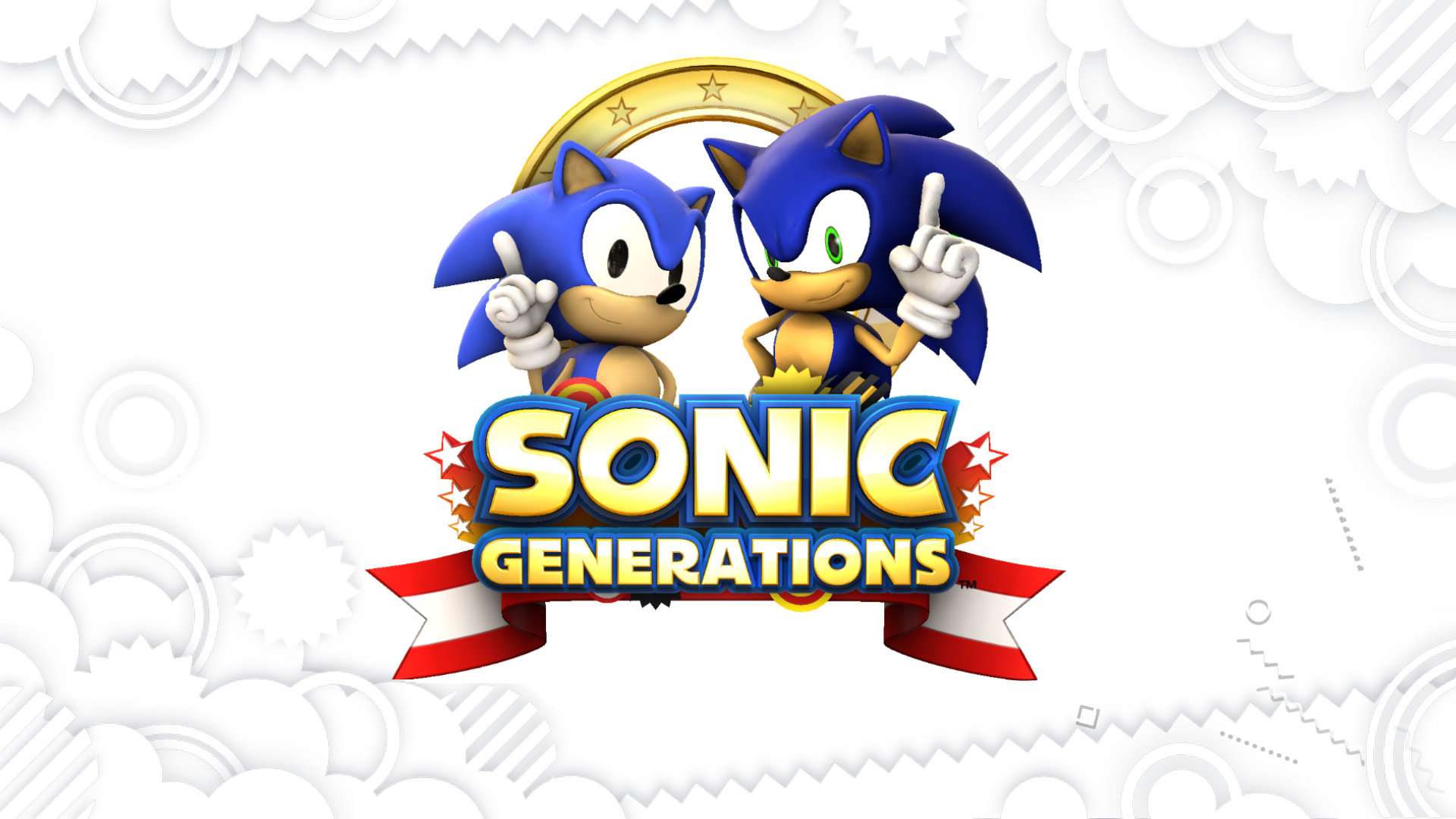 Sfm Sonic Generations Title Screen Remake By Blueeyedthunder On Deviantart
