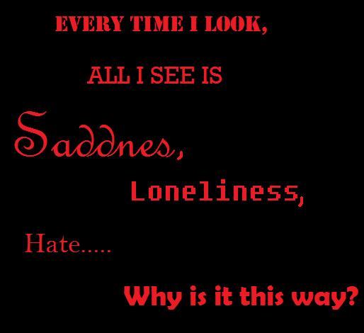 Sad Words of Life by Aniuthebrownwolf on DeviantArt
