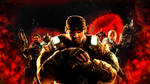 GOW 3 wallpaper-Characters