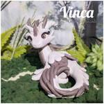 Vinca the Glitter Dragon