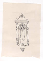 clock for erin by pinkandyellow