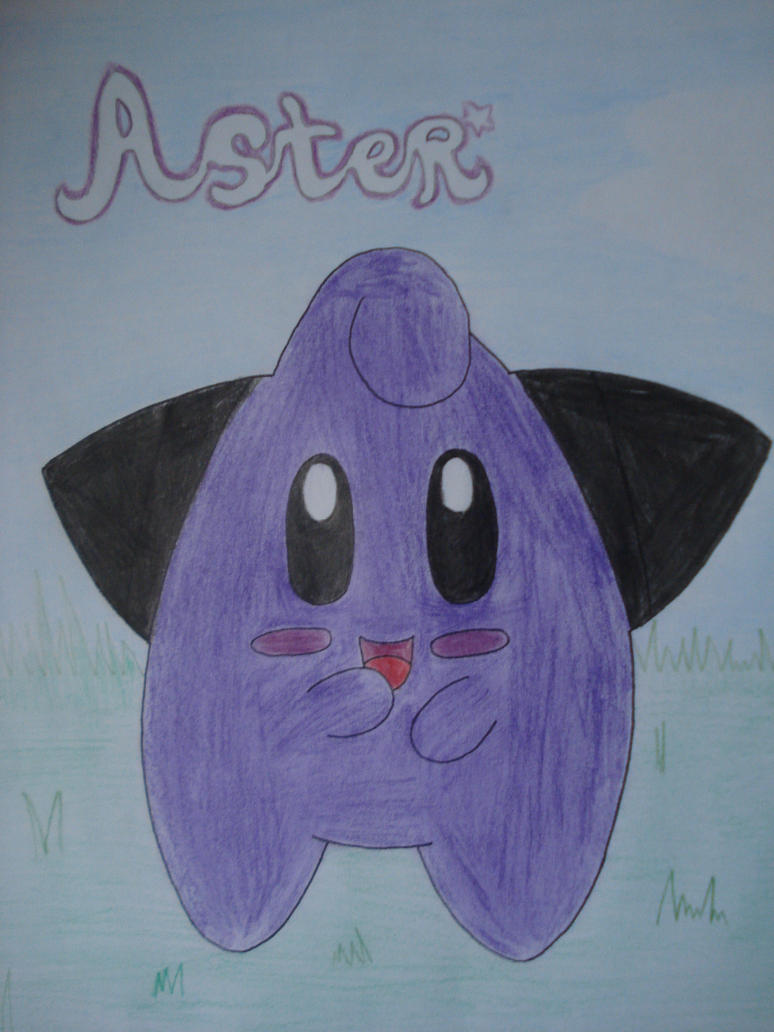 Aster the purple Cleffa by NIGHTSandTAILSFAN