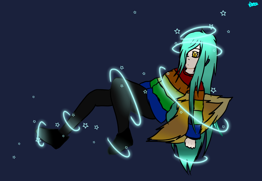 Chloe in Space by a-twilight-phantom