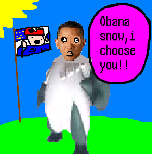 obamasnow by Epic-Oddish123
