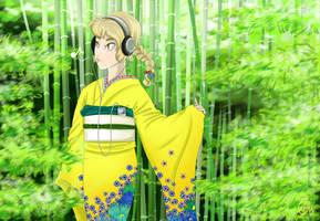 Forest Stroll by applejaxshii