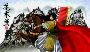 Hua Mulan by applejaxshii