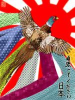 Ganbatte kudasai Nihon by applejaxshii