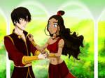 Prince Zuko and Katara Waltz