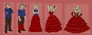 TG TF Red Dress by kittymellow