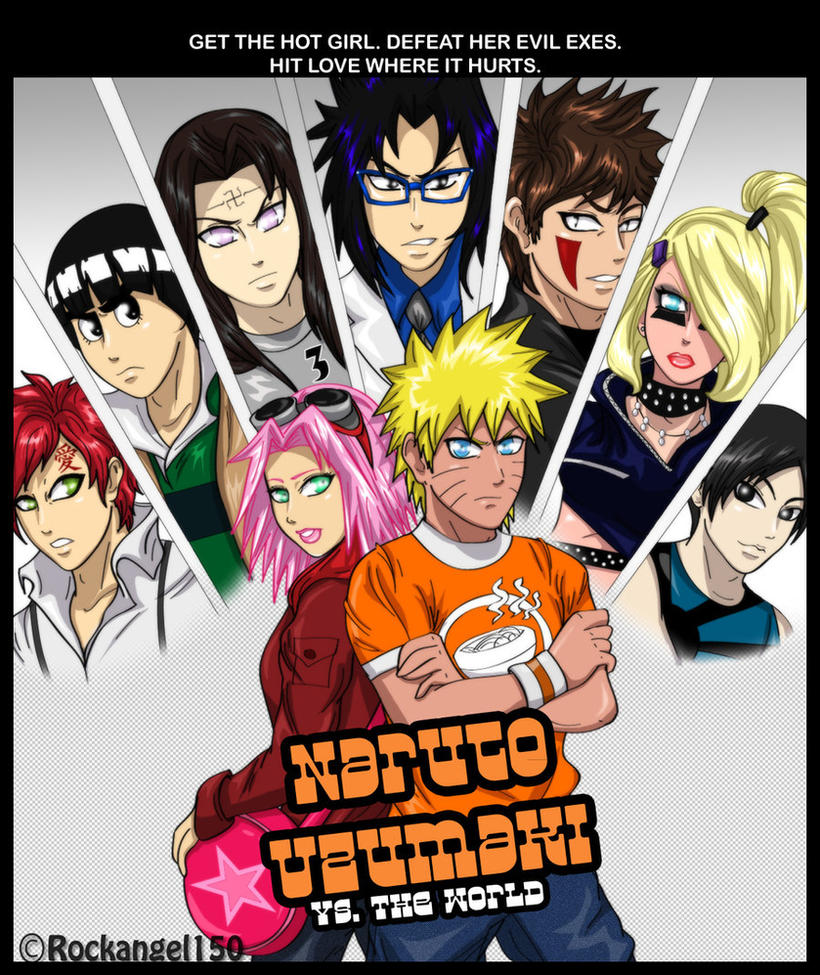 Gideon Scott Pilgrim Naruto Uzumaki Vs The ...