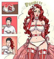 Red Velvet Cake TG by kittymellow