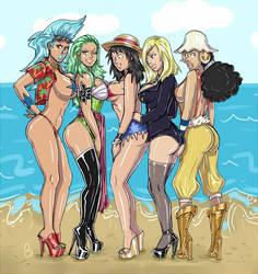 Luffy's Sexy Crew