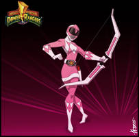 The Pink Ranger by Kristele