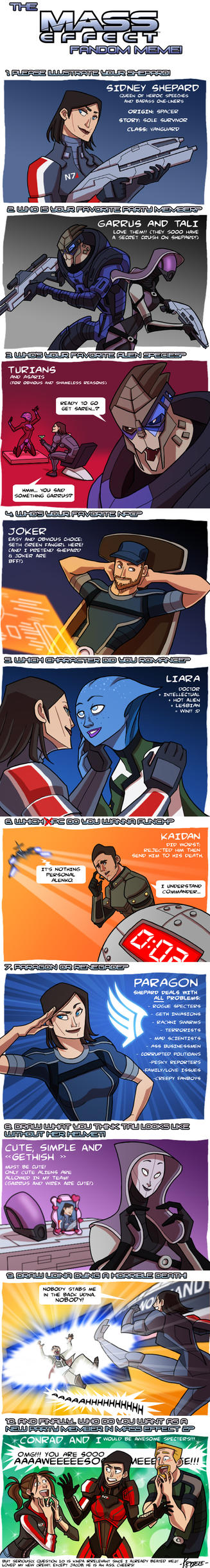 Kristele's Mass Effect Meme by Kristele