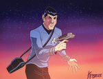 Tribute to Leonard Nimoy by Kristele