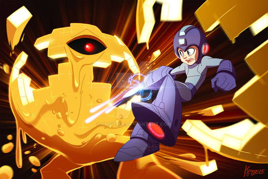 Mega Man VS Yellow Devil