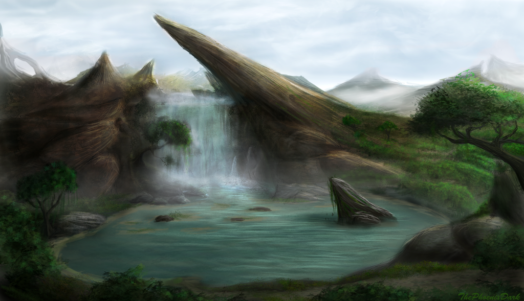 Darkwind Waterfall by JKRoots