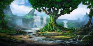 The Elder Tree by JKRoots