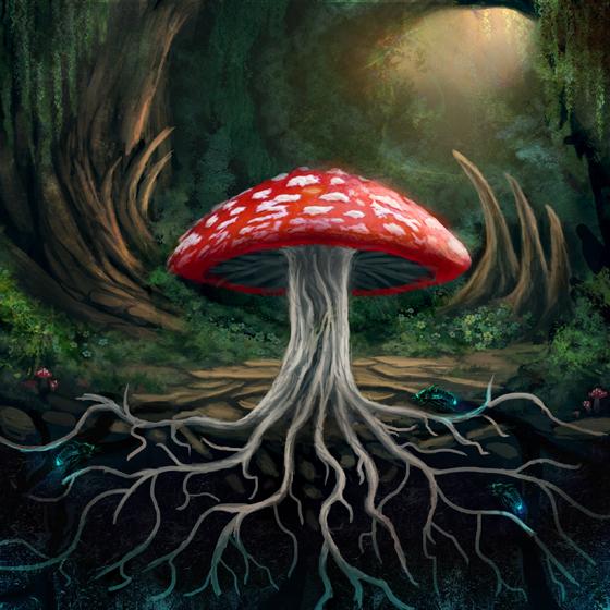 Mushroom by JKRoots