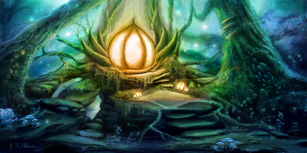 Heart of the Forest by JKRoots