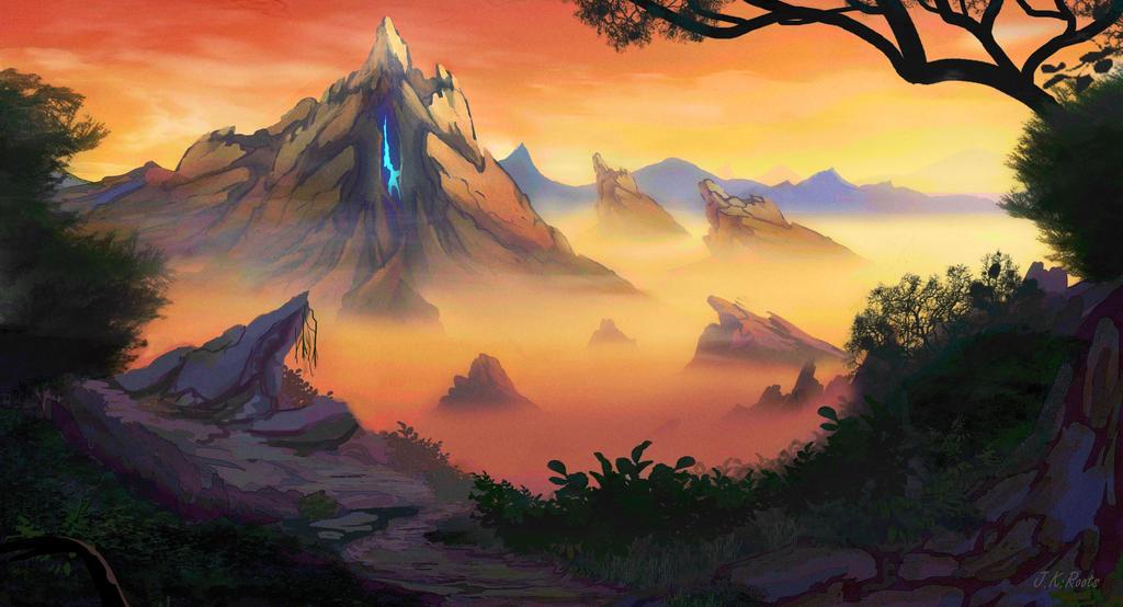 Mountain Spirit by JKRoots
